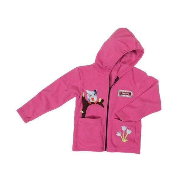Playshoes Fleecejacke pink