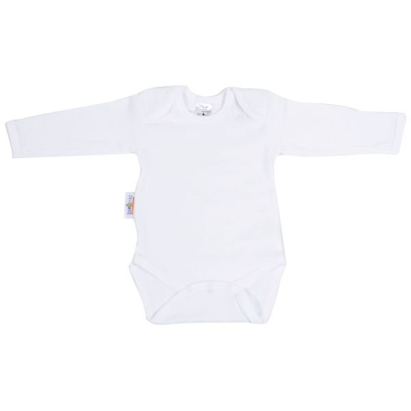 Baby Body 1/1 Arm weiss