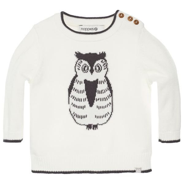 Noppies Pullover Lagos weiss