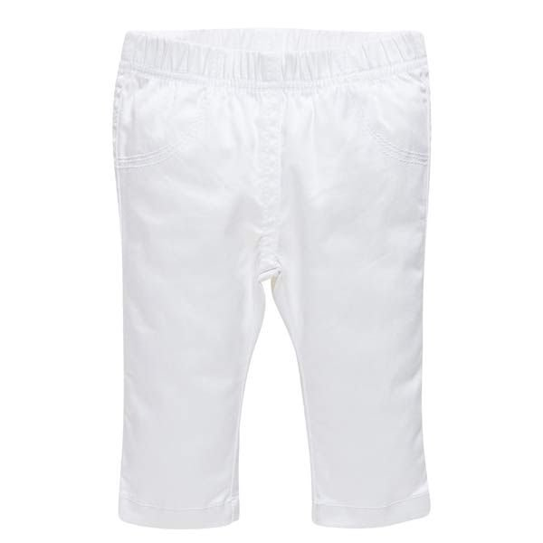 Chicco Stoffhose weiss