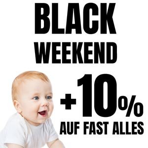 BLACK WEEKEND bei 4mybaby.ch